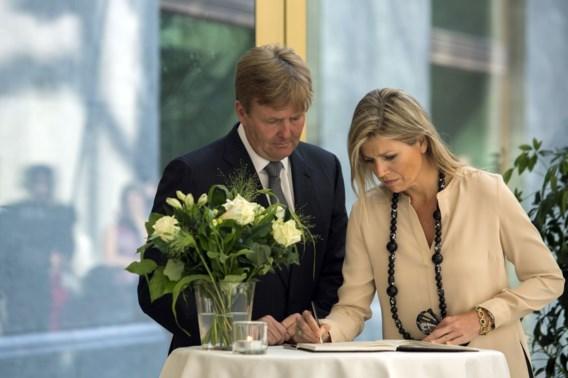 Willem-Alexander: 'Ramp slaat diepe wond in samenleving'