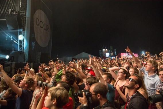 Bezoekersrecord sneuvelt op Dour-festival