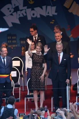 Koningspaar viert nationale feestdag op Bal National