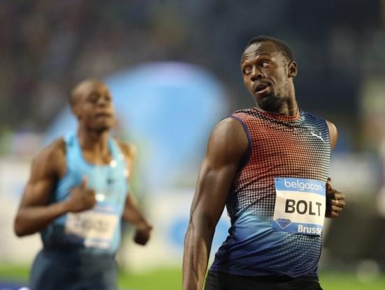 Dit jaar geen Usain Bolt op Memorial Van Damme