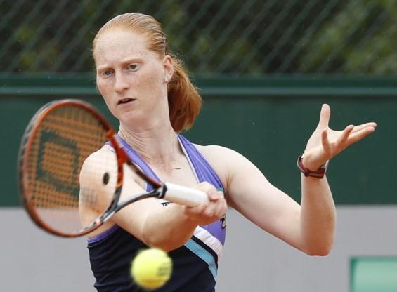 Alison Van Uytvanck geeft op in eerste ronde