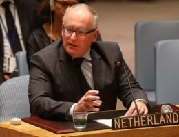 Nederlandse minister geeft emotionele speech voor Veiligheidsraad