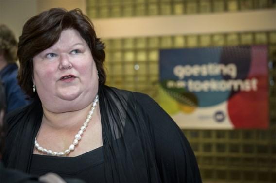 Maggie De Block neemt Justitie over van Turtelboom