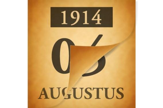 Wat gebeurde er op 5 augustus 1914?