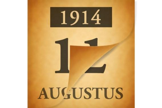 Wat gebeurde er op 12 augustus 1914?