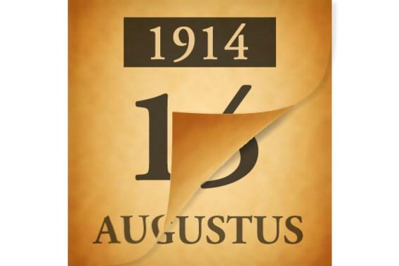 Wat gebeurde er op 16 augustus 1914?