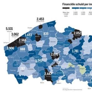 Strenger dieet voor Vlaamse gemeenten