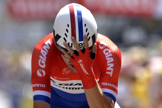 Tom Dumoulin verschalkt Cancellara in Breda
