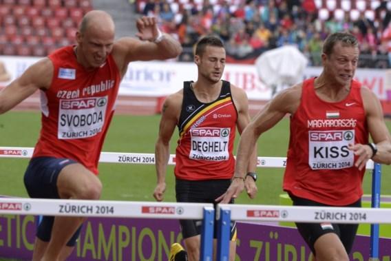 Adrien Deghelt ontgoochelt in reeksen 110 meter horden