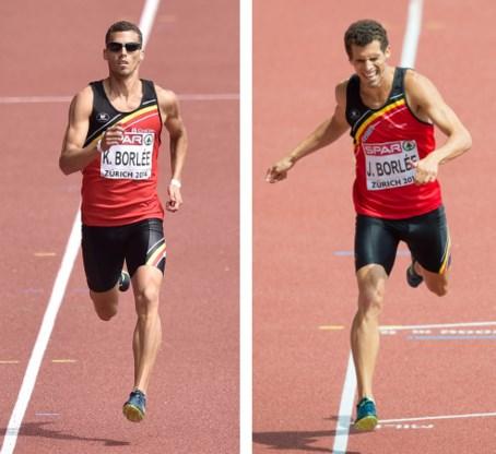 Jonathan Borlée in finale 400m, Kevin uitgeschakeld