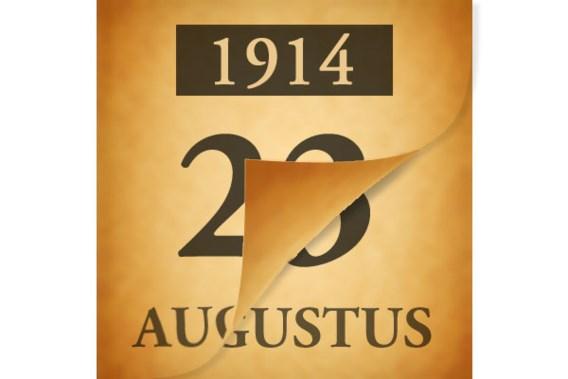 Wat gebeurde er op 23 augustus 1914?