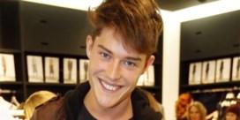 Gents model Cesar Casier houdt uitverkoop