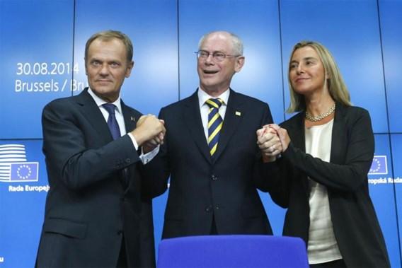 Donald Tusk volgt Herman Van Rompuy op als Europees president