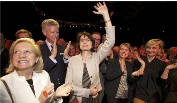 Marianne Thyssen (m.) wordt sinds de verkiezingen van 2010 binnen CD&V op handen gedragen.