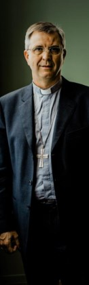 Bisschop Johan Bonny.