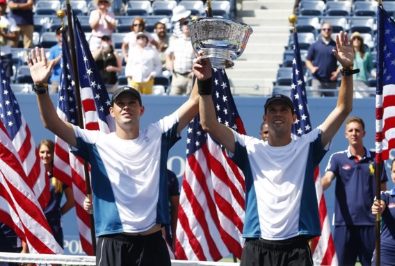 Gebroeders Bryan pakken 100ste dubbeltitel op US Open