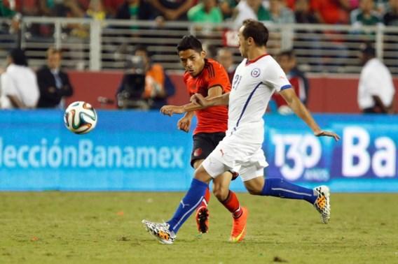 Mexico en Chili scoren niet in oefenduel
