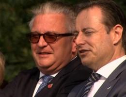 De Wever en Laurent broederlijk samen