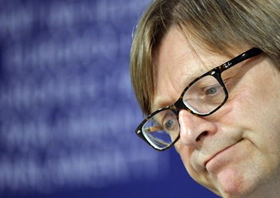 Guy Verhofstadt: 'Liberalen krijgen belangrijke portefeuilles'