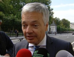 Reynders koeltjes over post Thyssen
