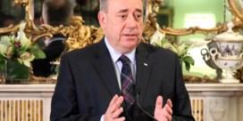 Salmond stapt op na Schots 'neen'