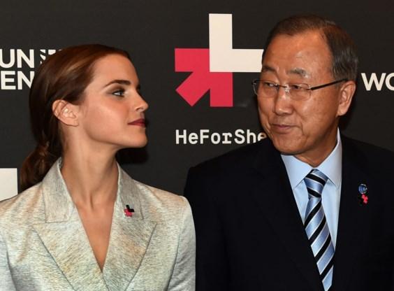 Emma Watson voor VN: 'Gendergelijkheid is ook een mannenzaak'