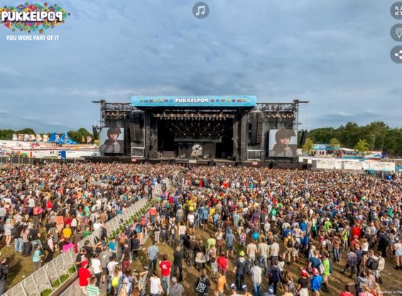 Pukkelpop eerste virtuele festival ter wereld