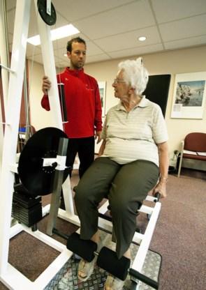 Veel senioren zullen actief willen blijven, bijvoorbeeld door te fitnessen.