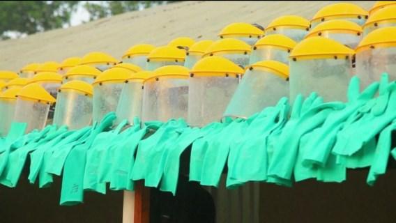 België heeft geen plan om ebola aan te pakken