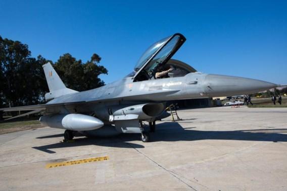 Kamer geeft groen licht voor Belgische F-16's