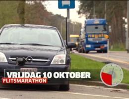 Op 10 oktober weer flitsmarathon
