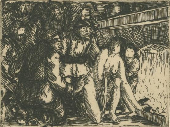 Louis Jou, 'Groepsverkrachting van een vrouw in haar woning.'