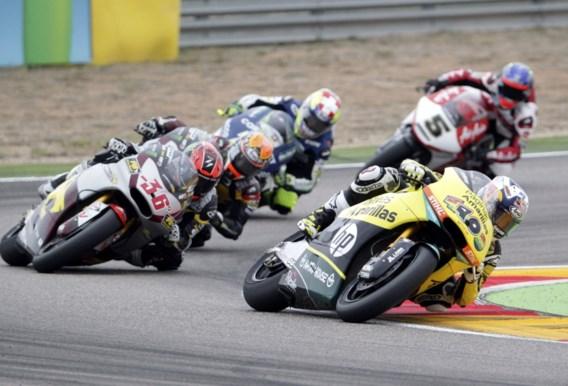 Maverick Viñales is beste in Moto2, Siméon finisht niet