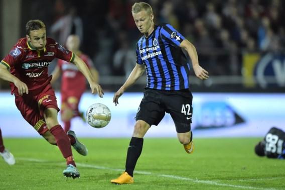 Club verliest punten in Oostende na bewogen match