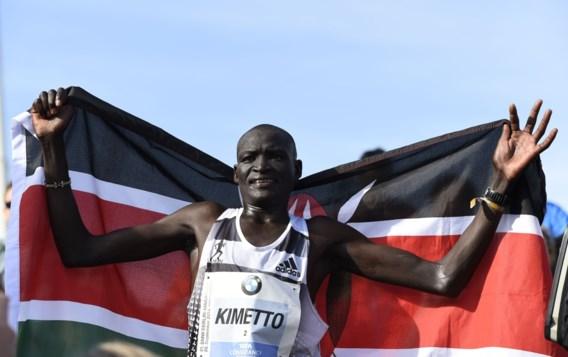 Keniaan Kimetto verbetert in Berlijn wereldrecord op marathon