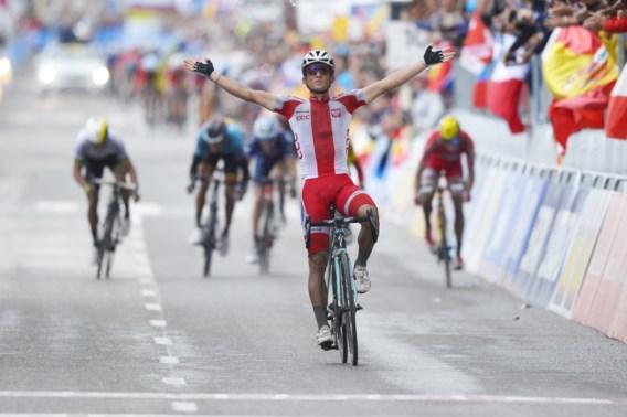 Lepe Kwiatkowski soleert naar wereldtitel wielrennen