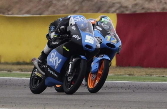 Romano Fenati wint in Moto3, Alex Marquez wordt WK-leider