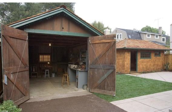 Industrieel erfgoed: de garage in Palo Alto waar HP in 1939 begon.