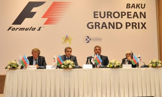 Dit is het F1-circuit van Azerbeidzjan