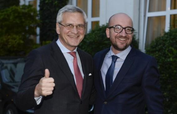 Kris Peeters (CD&V) en Charles Michel (MR).