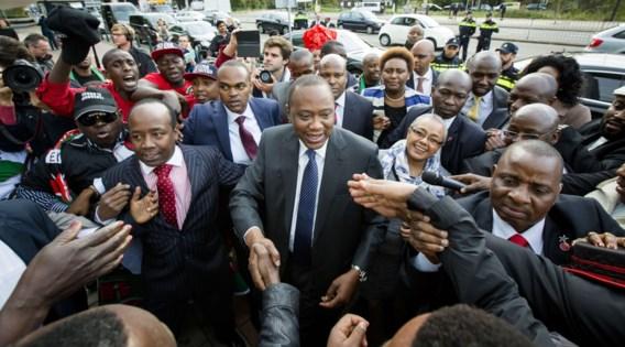 Kenyatta eerste zittende president die voor Internationaal Strafhof verschijnt