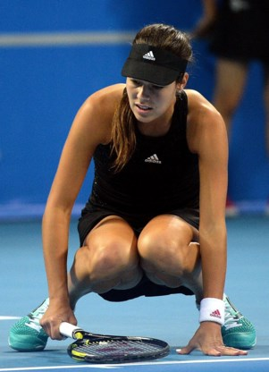 Heupblessure dwingt Ana Ivanovic tot forfait