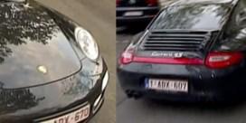Ook nummerplaat 'De Wever-Porsche' was niet in orde