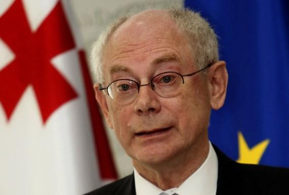 Herman Van Rompuy benoemd tot Ridder