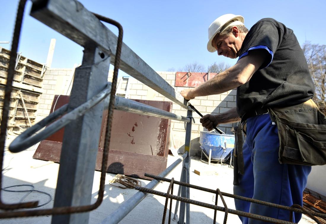 'Oudere bouwvakkers laten zich best ontslaan'