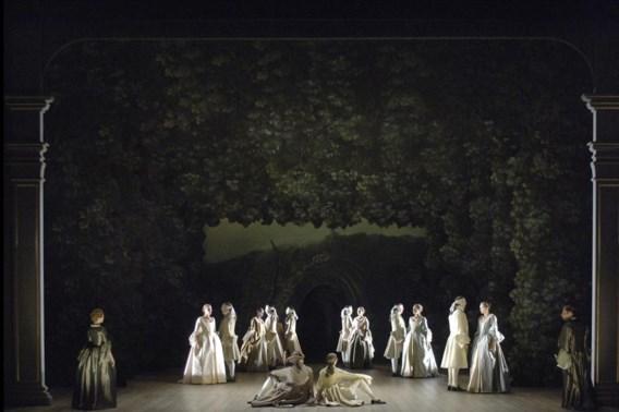 'Een operahuis als De Munt kan een plotselinge budgetkrimp niet verteren'. (Beeld uit 'Alcina').