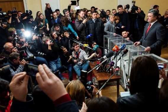 De partij van president Porosjenko won zoals verwacht, maar met minder voorsprong dan voorspeld.
