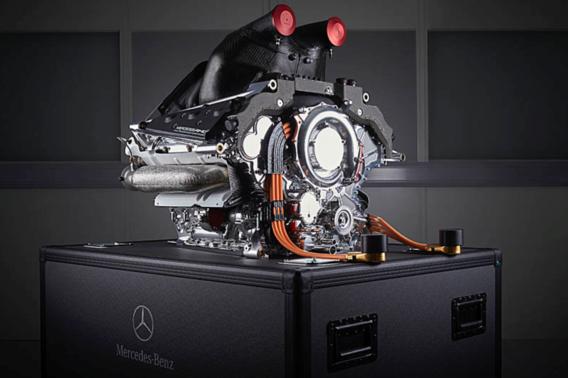 F1-motor Mercedes wint prestigieuze prijs