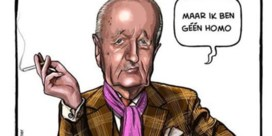 Ruben L. Oppenheimer moet cartoon over 'louche' advocaat rechtzetten
