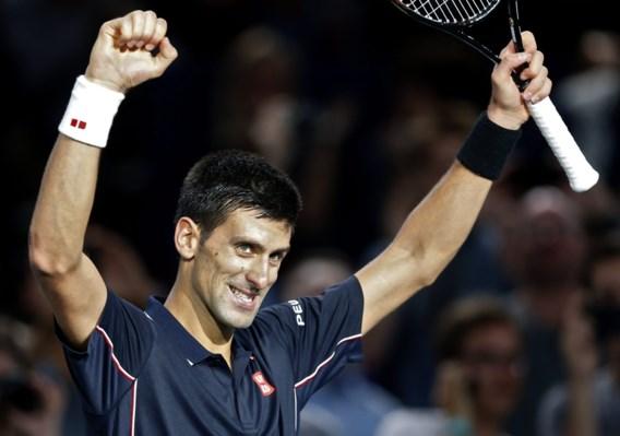 Novak Djokovic en Milos Raonic spelen finale in Parijs